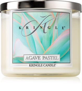 Kringle Candle Agave Pastel scented candle I.