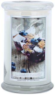 Kringle Candle Blueberry Muffin vonná svíčka
