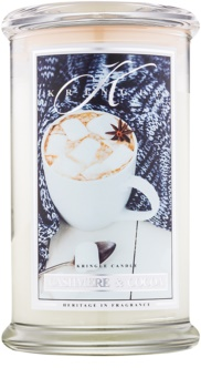 Kringle Candle Cashmere & Cocoa lumânare parfumată