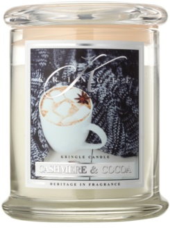 Kringle Candle Cashmere & Cocoa illatos gyertya