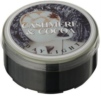 Kringle Candle Cashmere & Cocoa vela do chá
