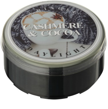Kringle Candle Cashmere & Cocoa чаена свещ
