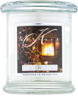 Kringle Candle Cozy Christmas scented candle