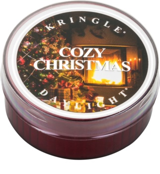 Kringle Candle Cozy Christmas tealight candle