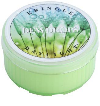 Kringle Candle Dew Drops čajna svijeća