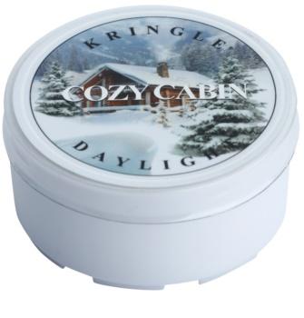 Kringle Candle Cozy Cabin bougie chauffe-plat