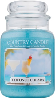 Country Candle Coconut Colada vela perfumado 652 g
