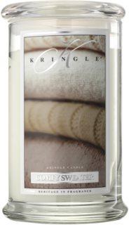 Kringle Candle Comfy Sweater vela perfumada
