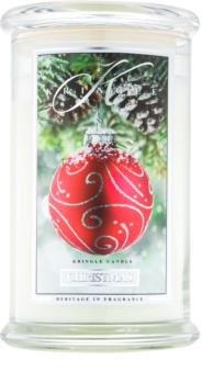 Kringle Candle Christmas scented candle