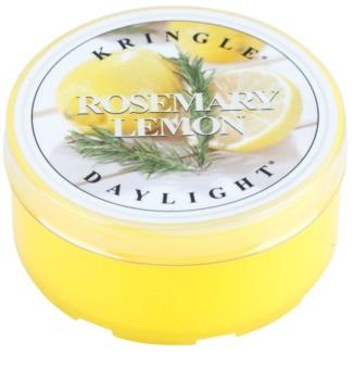 Kringle Candle Rosemary Lemon tealight candle