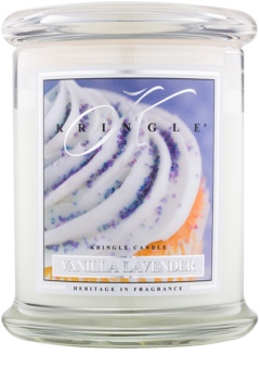 Kringle Candle Vanilla Lavender scented candle