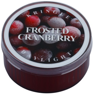 Kringle Candle Frosted Cranberry tealight candle