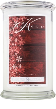 Kringle Candle Frosted Mahogany bougie parfumée