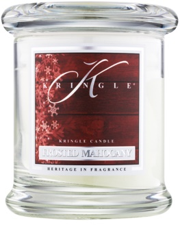 Kringle Candle Frosted Mahogany aроматична свічка