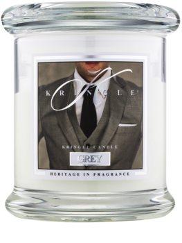 Kringle Candle Grey vela perfumada