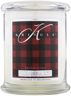 Kringle Candle Lumberjack scented candle