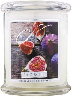 Kringle Candle Oak & Fig vela perfumada