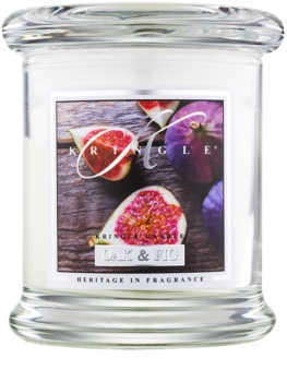 Kringle Candle Oak & Fig αρωματικό κερί