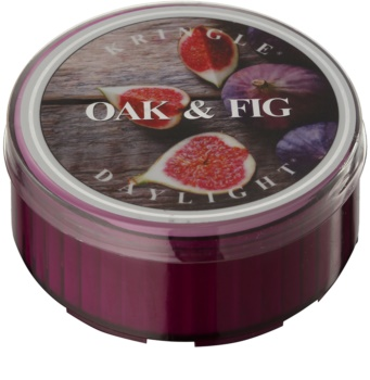 Kringle Candle Oak & Fig čajová sviečka