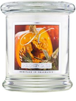 Kringle Candle Pumpkin Sage candela profumata
