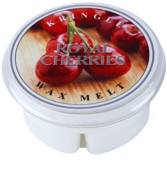 Kringle Candle Royal Cherries cera para lámparas aromáticas 35 g