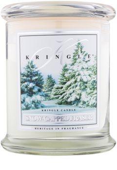 Kringle Candle Snow Capped Fraser vela perfumada