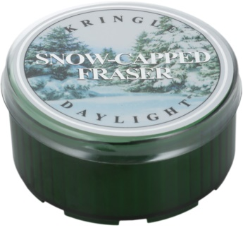 Kringle Candle Snow Capped Fraser vela do chá