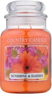 Country Candle Sunshine & Daisies vela perfumada  652 g