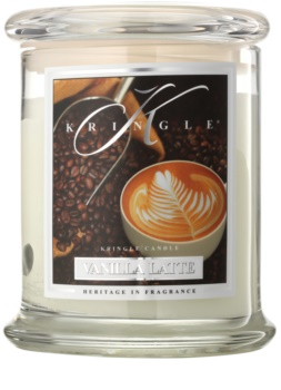 Kringle Candle Vanilla Latte bougie parfumée