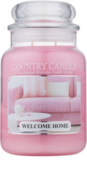 Country Candle Welcome Home vela perfumada  652 g