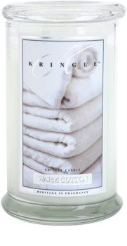 Kringle Candle Warm Cotton illatos gyertya