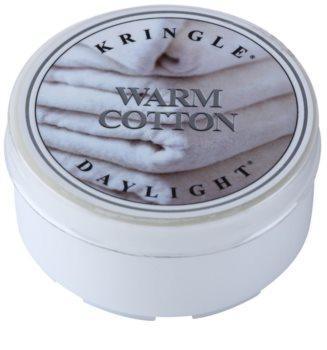 Kringle Candle Warm Cotton bougie chauffe-plat