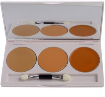 Kryolan Dermacolor Camouflage System palette de 3 correcteurs avec miroir et applicateur
