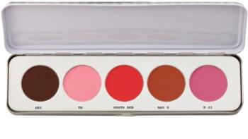 Kryolan Basic Face & Body palette de blush 5 couleurs