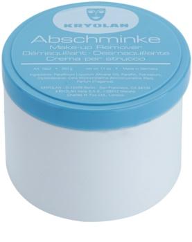 Kryolan Basic Removal Removedor de maquilhagem à base de vaselina para maquilhagem resistente embalagem grande