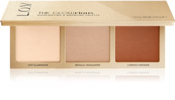 L.O.V. GLOWrious palette multifonctionnelle