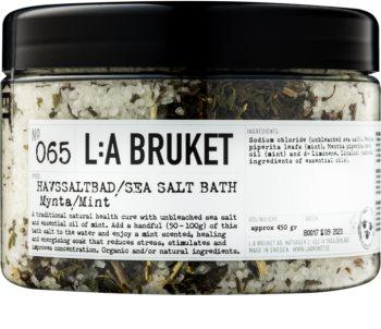 L:A Bruket Spa fürdősó borsmentával