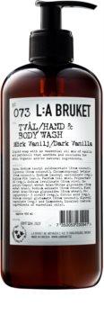 L:A Bruket Body tekuté mydlo s vanilkou