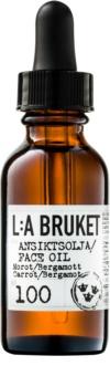 L:A Bruket Face Gesichtsöl mit Bergamotte und Karotte