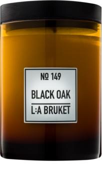 L:A Bruket Home Black Oak vonná sviečka