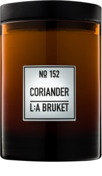 L:A Bruket Home Coriander scented candle