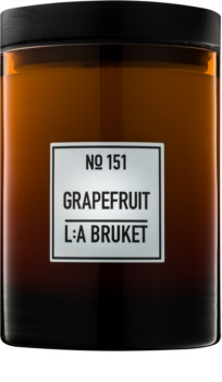 L:A Bruket Home Grapefruit scented candle