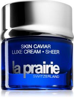La Prairie Skin Caviar Luxe Cream Sheer zpevňující a vyhlazující krém