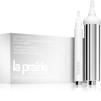 La Prairie Light Fantastic Cellular Concealing kisimító és élénkítő szemkrém sötét karikákra