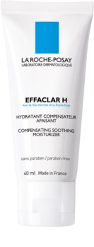 La Roche-Posay Effaclar H nyugtató és hidratáló krém problémás és pattanásos bőrre