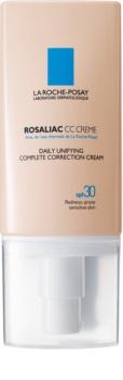 La Roche-Posay Rosaliac CC Cream für empfindliche Haut mit der Neigung zum Erröten