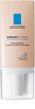 La Roche-Posay Rosaliac CC krema za občutljivo kožo, nagnjeno k rdečici