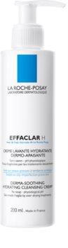 La Roche-Posay Effaclar H Moisturising Cream Cleanser for Problematic Skin, Acne