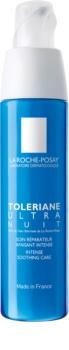 La Roche-Posay Toleriane Ultra cuidado noturno de suavização intensivo  para rosto e olhos