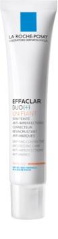 La Roche-Posay Effaclar DUO (+) tonirana korekcijska nega za poenotenje polti proti nepopolnostim kože in madežem po aknah